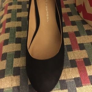 Chinese Laundry black suede  size 10
